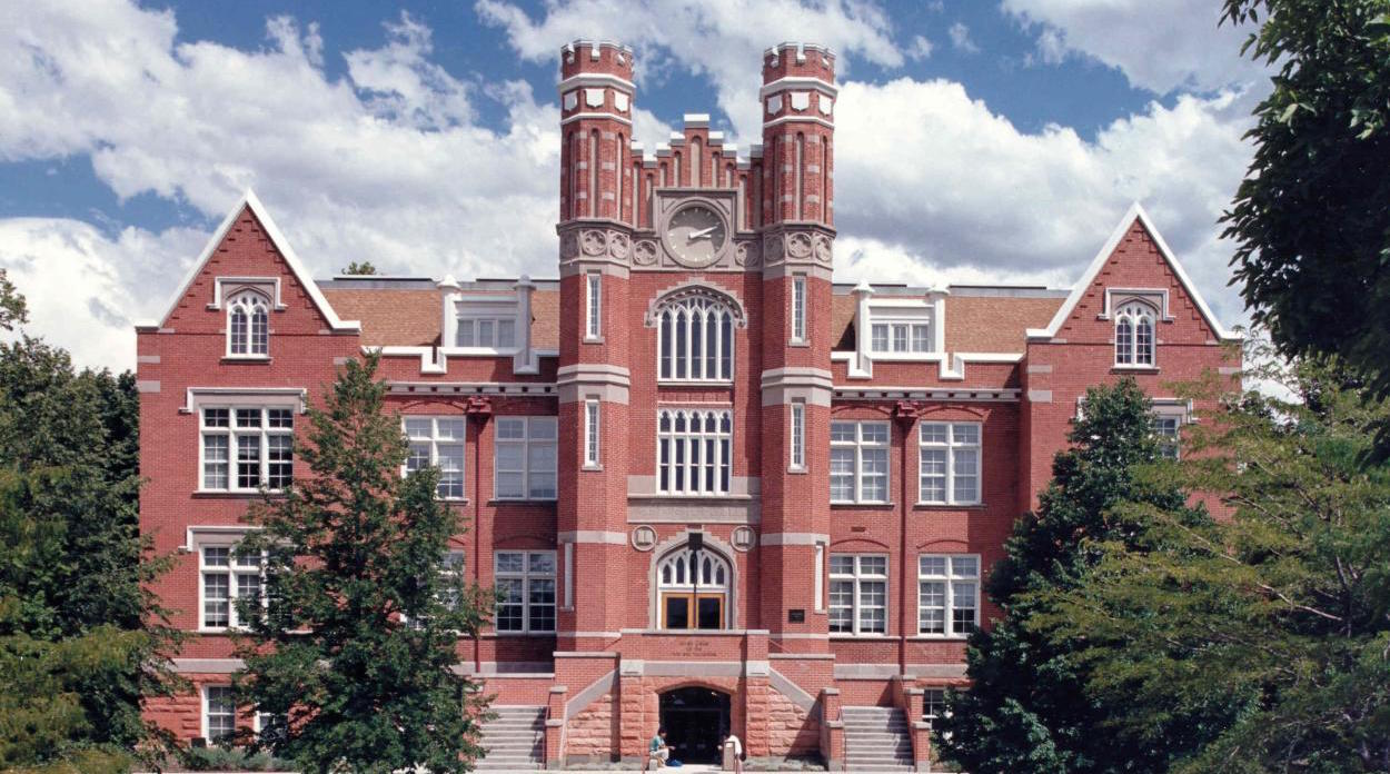 Converse Hall (front facade), Westminster College (UT)