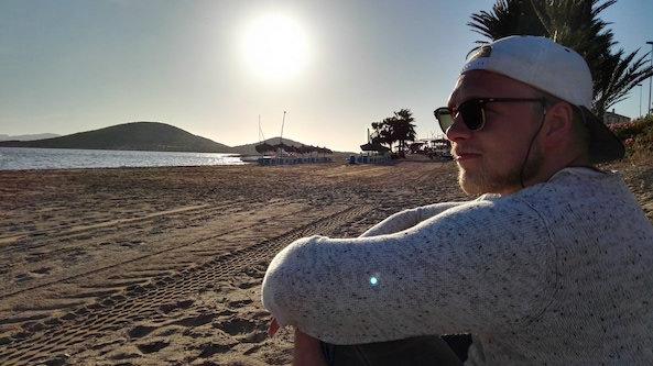 Espanjassa liikuntatieteitä opiskeleva Janne