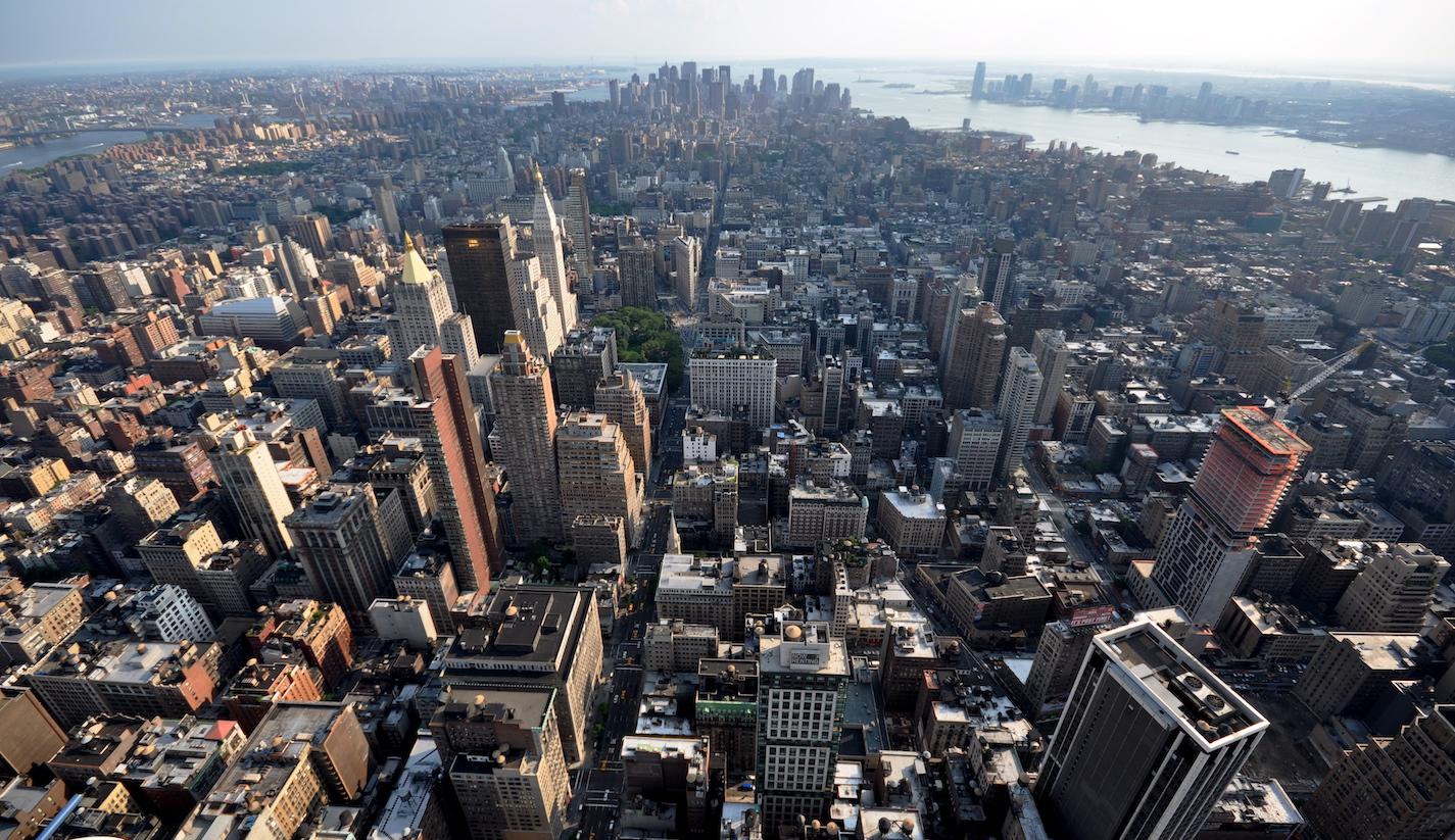 Yliopistoon New Yorkkiin